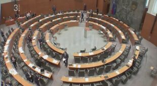 Wstrząsy odczuwalne w Słowenii w trakcie przemówienia w parlamencie