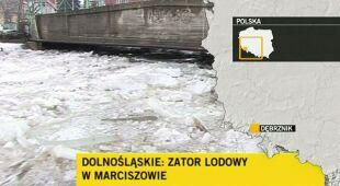 Podtopiony Dębrznik (TVN24)